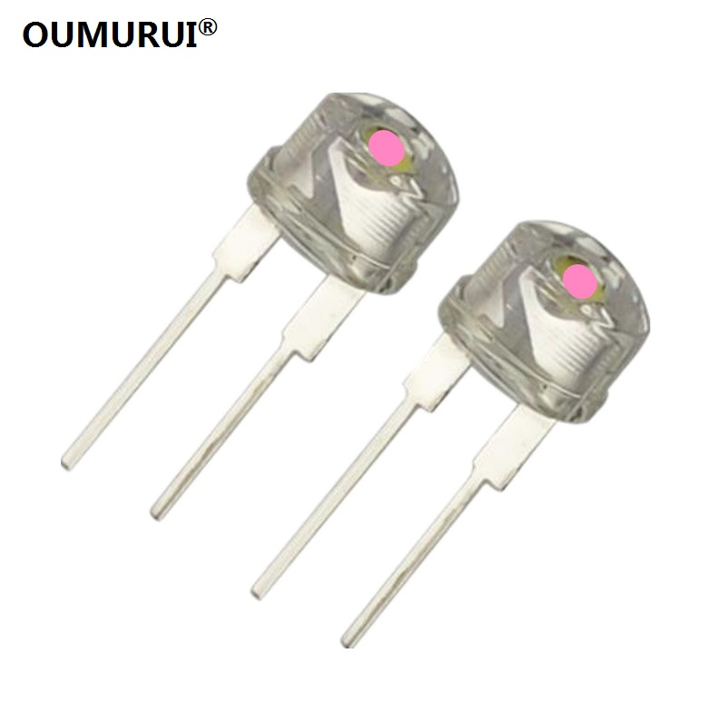 8mm Straw Hat Led: Aliexpress.com : Buy F8 High Bright 8mm LED Strawhat Diode