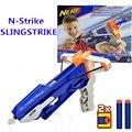 Новые Приходят в Исходном Nerf N-Strike Elite Серии Пистолет Игрушки Мягкие Дартс Бластер Slingstrike Лук Мальчиков Подарок Nerf A9250