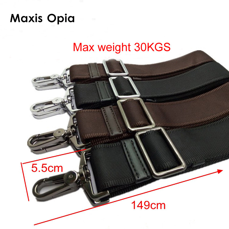 38mm Max 30KGS Strong Hook Nylon Belt Accessory Men Bags Long Shoulder Strap,man Briefcase Bag Straps,repair Bag Shoulder Strap
