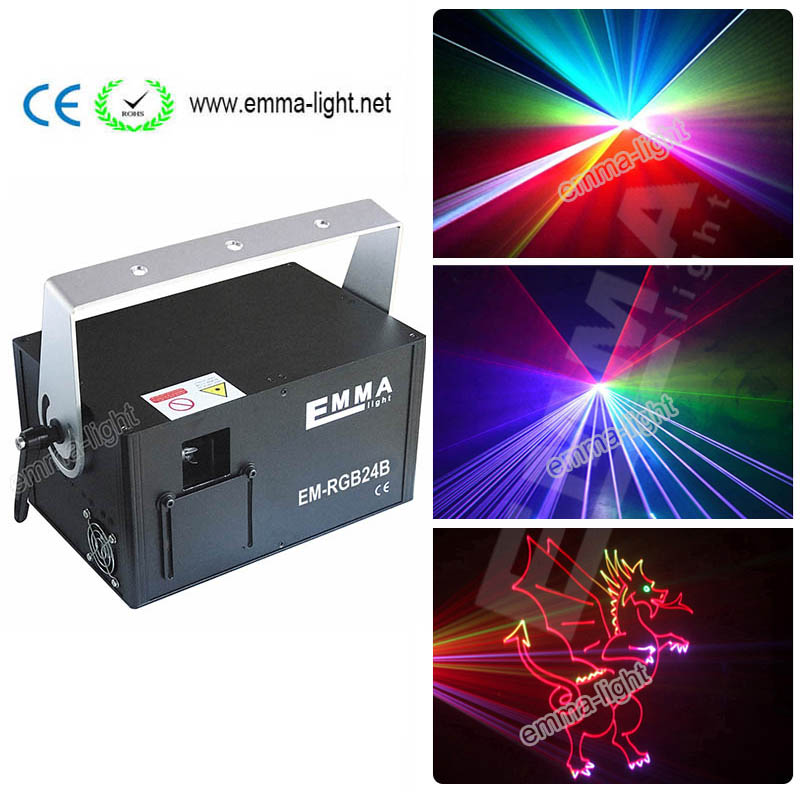 1.5w 3d Colorful Dmx Ilda Sd Card Laser Light Disco Laser Light Rgb Animation Laser Show Meticulous Dyeing Processes