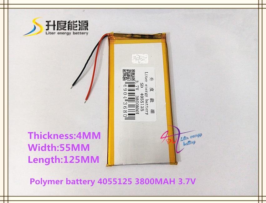 Neothinking 32100100 Universal Tablet Battery Ainol Aurora Notebook Power Bank Texet Tm-7858 3800mah 3.7v Polymer Li-ion Tablet Batteries & Backup Power Tablet Accessories