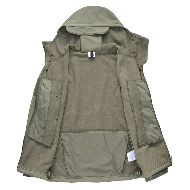 Military Tactical Jacket for Men-Waterproof and Windbreaker Hooded Coat