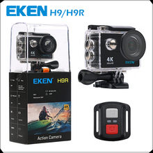 "Original EKEN H9 / H9R Action camera Ultra HD 4K / 25fps WiFi 2.0"" 170D underwater Camera waterproof Cam Helmet camera Sport cam(China)"