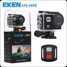 Оригинальный EKEN H9/H9R Экшн-камера Ultra HD 4 К/25fps Wi-Fi 2.0 «170D подводный Камера водонепроницаемый Cam Шлем камеры Спорт Cam