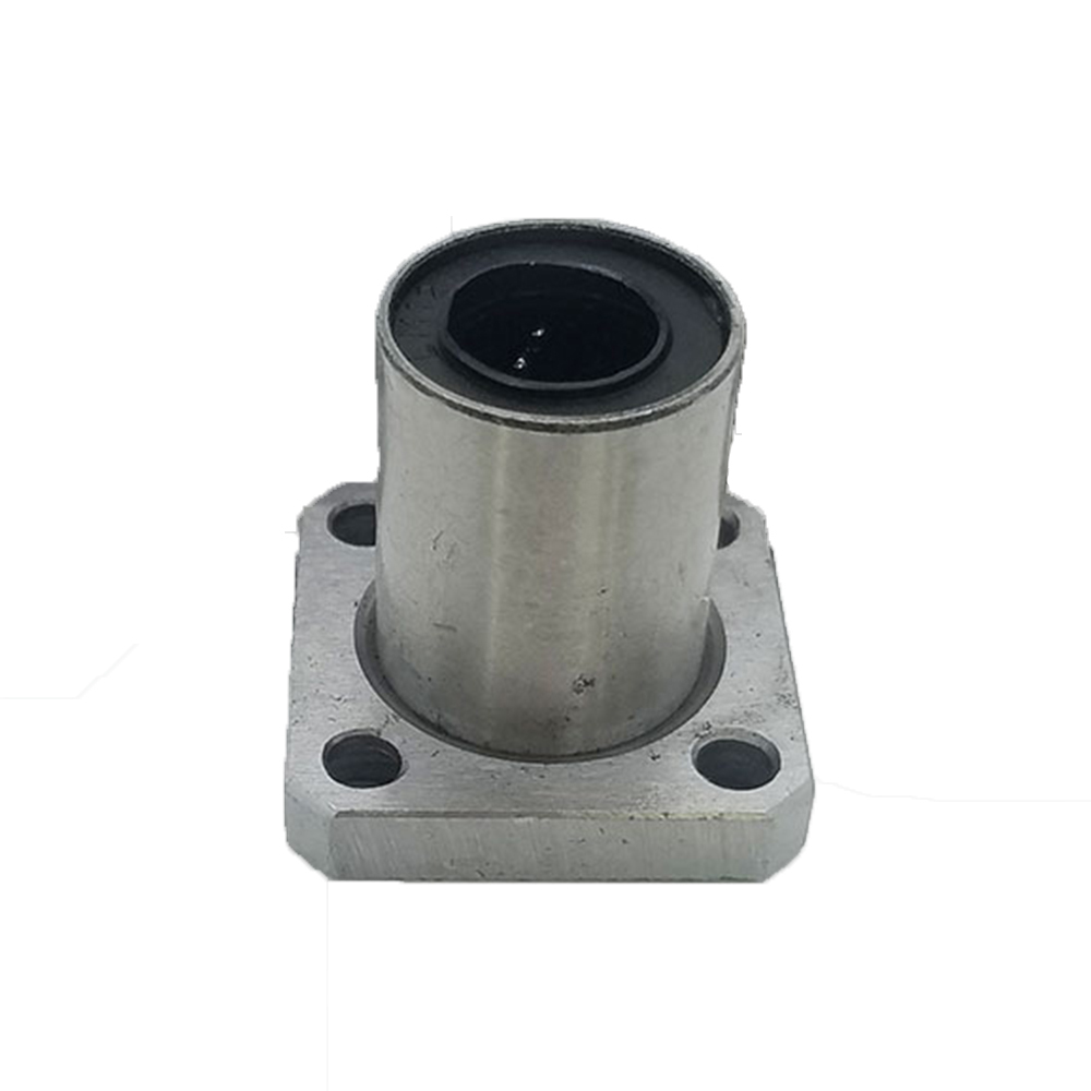 LMK40UU 40mm Inner Dia Flange CNC Router Linear Motion Bearing Bushing