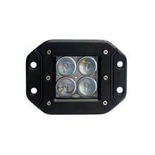 ECAHAYAKU 3 Inch 12W 4D LED Work Light Pods for Tractor Boat Offroad 4WD 4x4 Truck ATV Spot driving Fog Lamps 12V 24V Wrangler