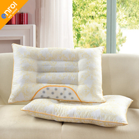 Hot Sales Luxury Style Rectangle Magnetic Pillows White Color Down Proof Cotton Fabric Soft Bedding Pillow