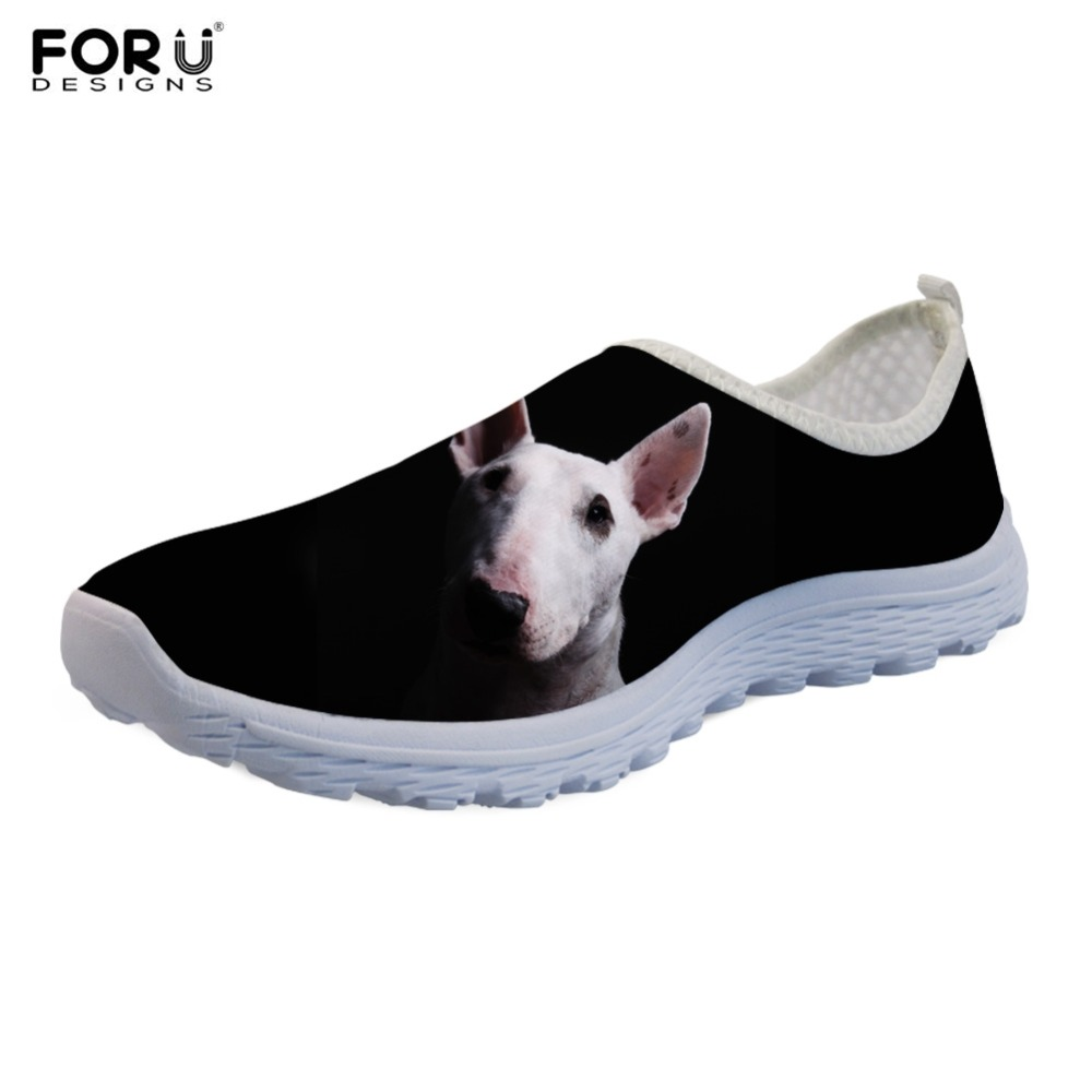 FORUDESIGNS Flats-Shoes Walking-Sneakers Mesh Breathable Casual Women Lady 3D Lightweight