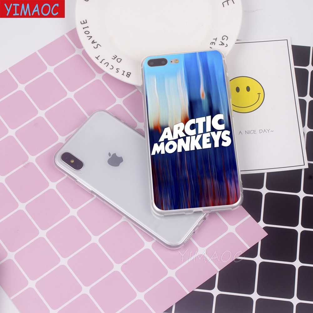 YIMAOC Arctic Monkeys Pop music Мягкий силиконовый чехол из ТПУ чехол для iPhone 8 7 6 6 S Plus 5 5S SE X XS Max XR Coque Shell чехлы