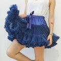 Adolescente Niñas Enagua Faldas Del Tutú de Pettiskirt Mullido Adicional Femenina De Dance Party Falda En Capas Traje Hermoso 16 Colores
