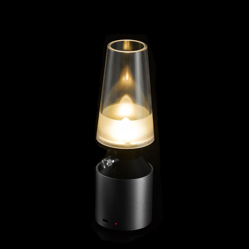Modern Kerosene Lamp Us 37 55 Creative Blowing Control Lamp Usb Rechargeable Led Kerosene Lamp Retro Modern Night Light Adjustable Induction Lamp In Led Night Lights