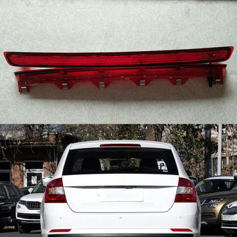 MZORANGE Car High Positioned Mounted Additional Rear Third Brake Light Stop Lamp For Skoda Rapid Spaceback third brake lamp led third stop brake light lamp rear for mercedes benz w203 c160 c180 c200 c220 c230 c240 c270 c280 c320 c350