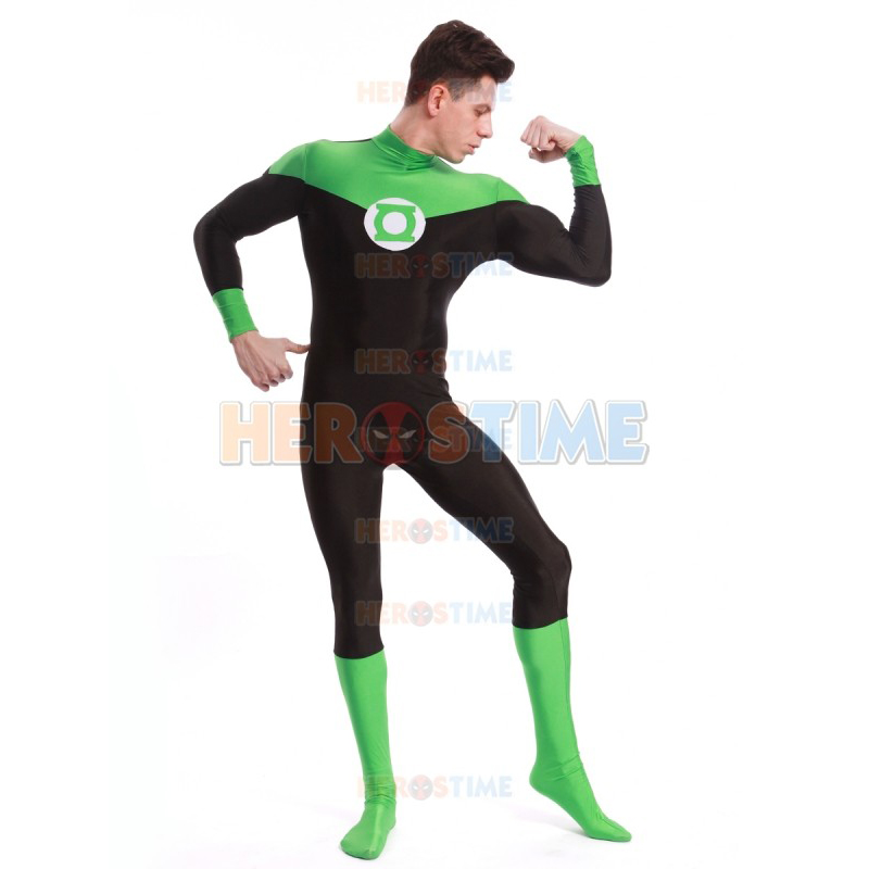 Adult/Childrens Halloween/Birthday Party Mens Green Lantern Cosplay Costumes  Spandex Lycra Zentai SuperHero - Online Get Cheap Green Lantern Halloween Costumes -Aliexpress.com