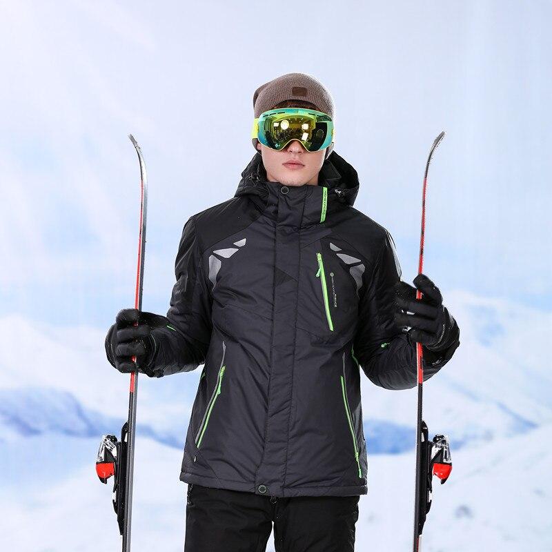 Warm Winter Men's Jacket Pants Ski Jacket For Men Snowboarding Jackets Men's Ski Suit Outdoor Sport suit Waterproof Windproof цена 2017