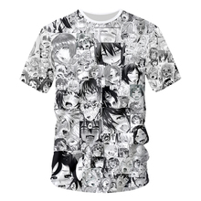 Anime Novelty Streetwear T-shirt