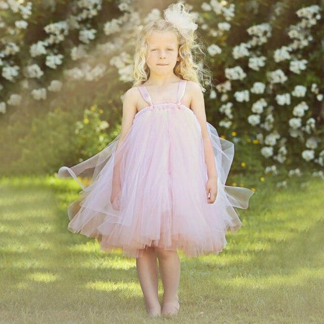 2 12y Prinzessin Tutu Pfirsich Mädchen Kleid für Geburtstagsfeier ...
