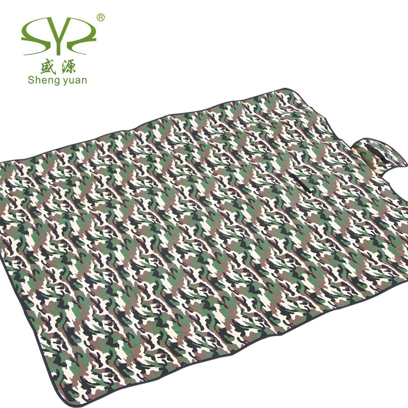 Outdoor Camping Beach Mat Picnic Blanket Camouflage Fold