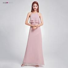 Elegant Bridesmaid Dresses EP07130 Long Chiffon Dress A-line Ruffle  Arrivals Bridesmaid Wedding Party Dress de5e342c3028