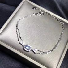 Natürliche Mondstein Armband, Blau Mondstein, Einfache und Exquisite Armband, Heiße Produkte