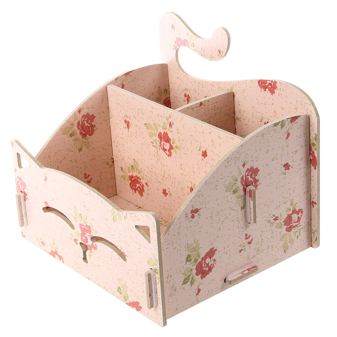 Aliexpress.com : Buy Wooden Box Cute Cat Pen Box Desktop Storage ...
