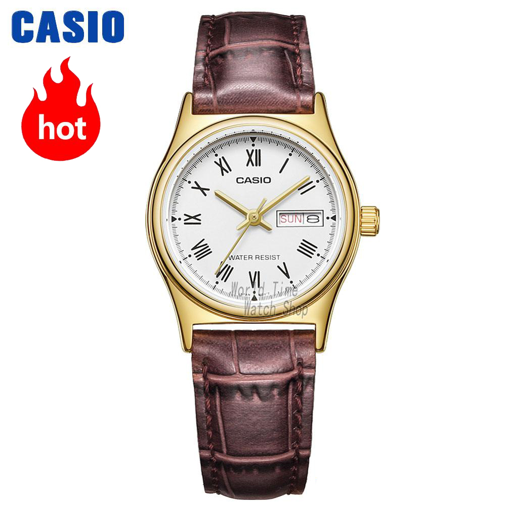 Casio watch Simple fashion sports comfortable student watch LTP-V002D-7A LTP-V006D-1B LTP-V006D-2B LTP-V006D-4B LTP-V006D-7B casio ltp e142l 7a2