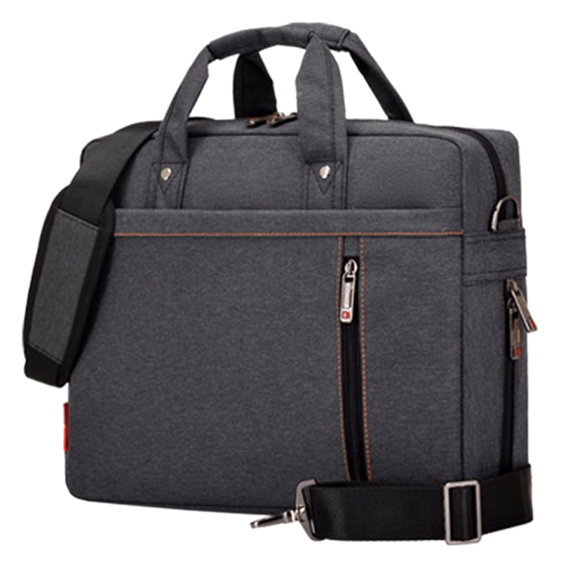 Laptop bag 13 inch Shockproof airbag waterproof computer bag men and women luxury thick Notebook bag (Black) ...