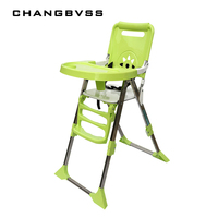 Детские стулья дети обеденный стол мест детские стульчики Многофункциональный Портативный складной младенцев Eatting ужин стул