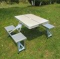 El nuevo portátil mesa plegable al aire libre sillas de aluminio maleta traje