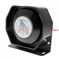 Universal 200W 12V Compact Loud Speaker PA System Horn Emergency Warning Siren