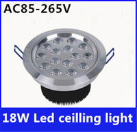 18W LED Ceiling Lamp LED Downlight Energy Saving Light Recessed Lifespan 50000h Bridgelux Chip CE ROHS