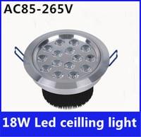 18W LED Ceiling Lamp LED Downlight Energy Saving Light Recessed Lifespan 50000h Bridgelux Chip CE ROHS