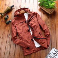 Simwood Jaqueta Masculina Plus Size Mens Jackets And Coats Casacos Masculino Spring Men Jacket And Coat Casual Fit Overcoat Maxi