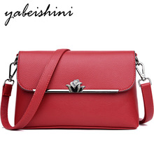 YABEISHINI Summer Leather Luxury Handbags Women Bags Designer Small Crossbody For 2019 Woman Sac A Main Bolso Mujer