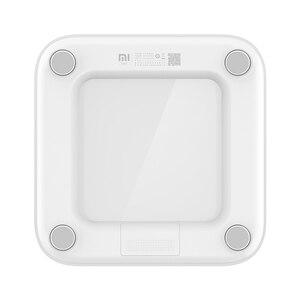 Image 5 - Оригинальные весы Xiaomi Mijia Scale 2, Bluetooth 5,0, умные весы, цифровой светодиодный дисплей, работает с приложением Mi fit для бытового фитнеса