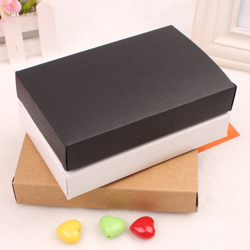 30Pcs Blank Kraft Paper Facial Mask Packaging Boxes Black -4919