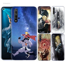 FullMetal Alchemist Anime Case for Huawei Honor 8X 8C 8 9 10 20 Play 8A lite Pro V20 Y9 Y7 Y6 Y5 Prime 2018 2019 TPU Phone Bags(China)