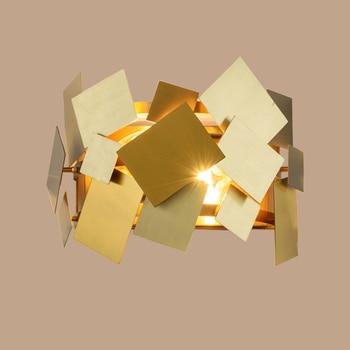 Moderne ijzer goud Wandlamp Gold Metal Body Balkon wandmontage bed leeslampjes