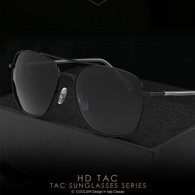 Os novos óculos de sol dos homens óculos polarizados yurt clássico 8066 óculos de sol óculos de condução, óculos de prescrição