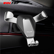 VOLTOP Top Design Alloy Claw Car Accessories Air Outlet Phone Holder Ornament Gravity Mobile Phone Support Stand Auto Supplies