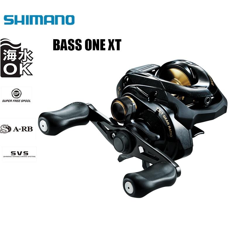 SHIMANO BASS ONE XT 150 151 4 1 BB 7 2 1Gear Ratio SVS BRAKING SYSTEM