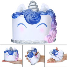 Squishies Galaxy Unicor Cake Toy Slow Rising Fruits Scented Stress Relief Toy smooshy mushy skuishy animales 2018 New(China)