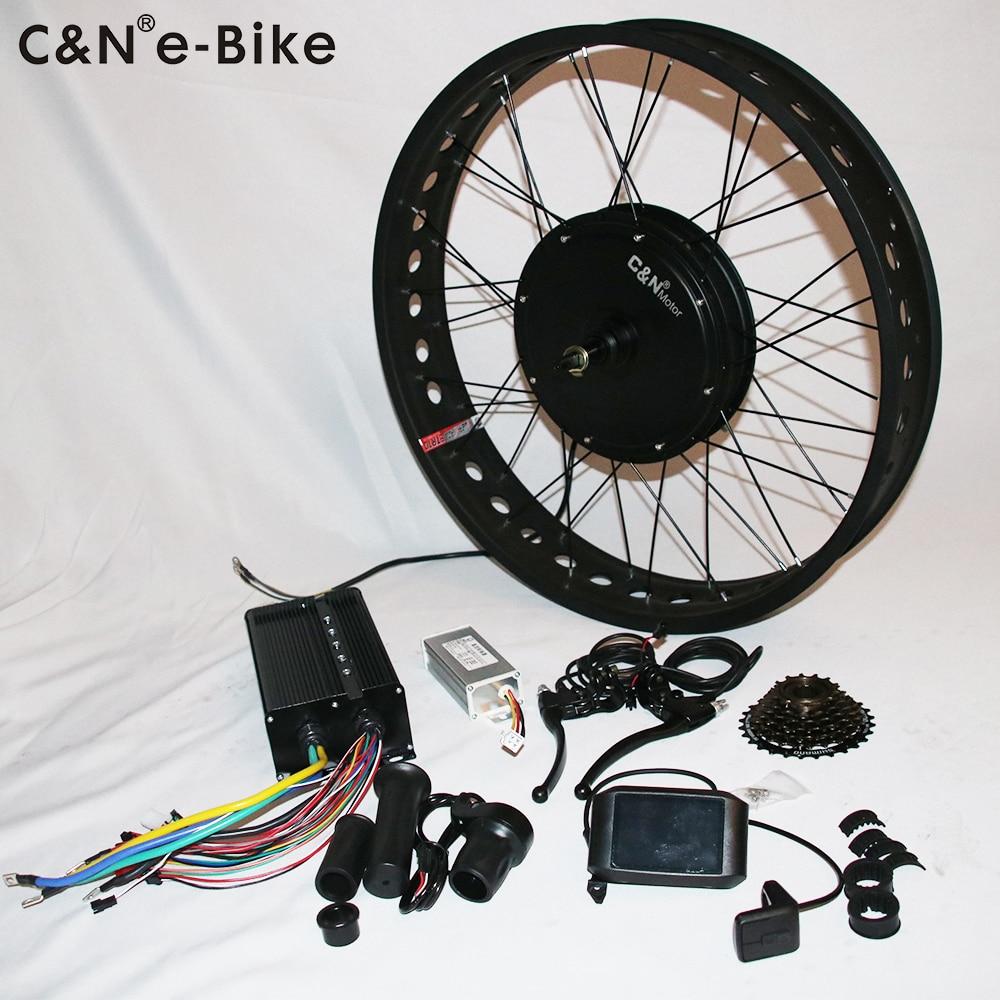 2019 Leili 新 72 V 3000 150w 脂肪電動自転車変換キットカラフルなディスプレイ  グループ上の 自動車 &バイク からの アクセサリ の中 1