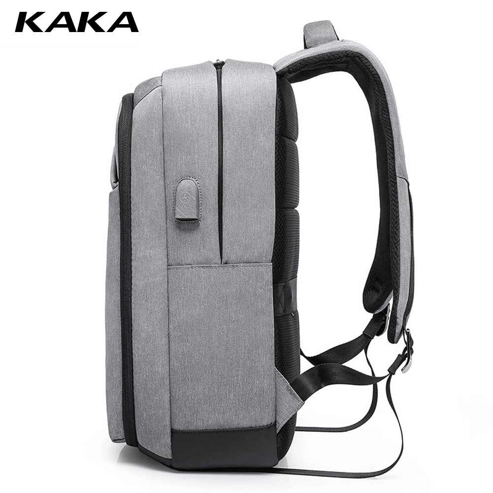 KAKA рюкзак мужской рюкзак мужская школьная сумка Школьный рюкзак зарядка через USB дорожная сумка спортивная сумка пакет противоугонные Новые рюкзаки
