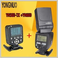 YONGNUO Optimal YN660 + YN560-TX Kit For Canon / Nikon Flash Speedlite GN66 2.4GHz Wireless HSS 1/8000s Manual Master Controller