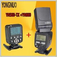 YONGNUO YN660 Flash Radio Master Slave for Canon Nikon Pentax Olympus Sony + YN560TX LCD Wireless Flash Controller Transmitter