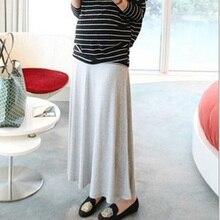 Ucanaan bump модальные беременность удобные летний юбки материнства случайные юбка беременных
