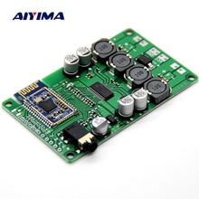 AIYIMA 2x15 вт стандартная беспроводная плата Bluetooth 5,0 усилитель AUX поддержка последовательной команды изменение имени пароль