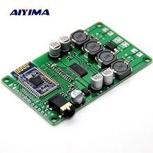AIYIMA 2x15W บลูทูธเครื่องขยายเสียงไร้สายบลูทูธ 5.0 Amplificador AUX สนับสนุนคำสั่ง Serial เปลี่ยนชื่อรหัสผ่าน