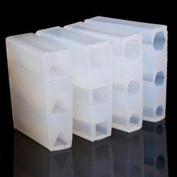 JAVRICK полупрозрачный жидкий силиконовая форма DIY Смола ювелирные изделия Кулон Форма для кулонов инструменты