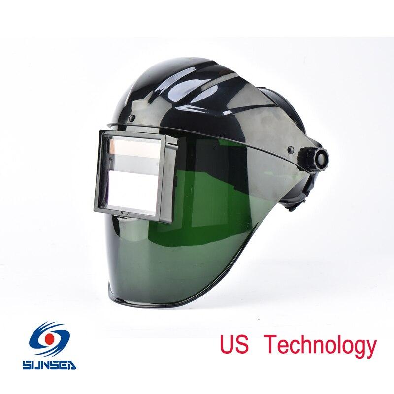 2016 New Design Unique Solar Auto darkening welding Helmet electric Mask Big View tig mig arc